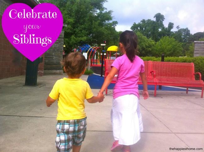 celebrate siblings