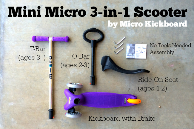 Micro Kickboard Mini 3-in-17
