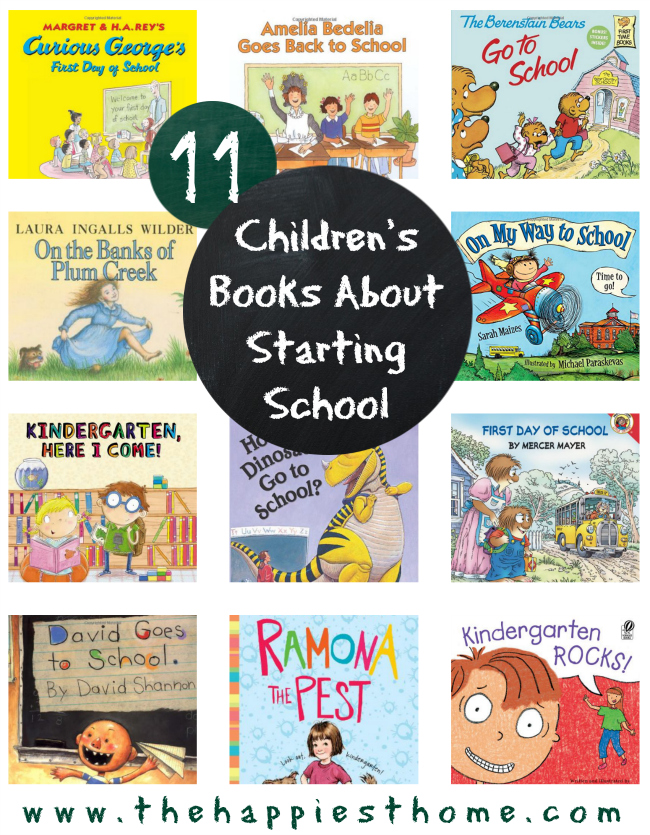 kids, books, starting school, back to school