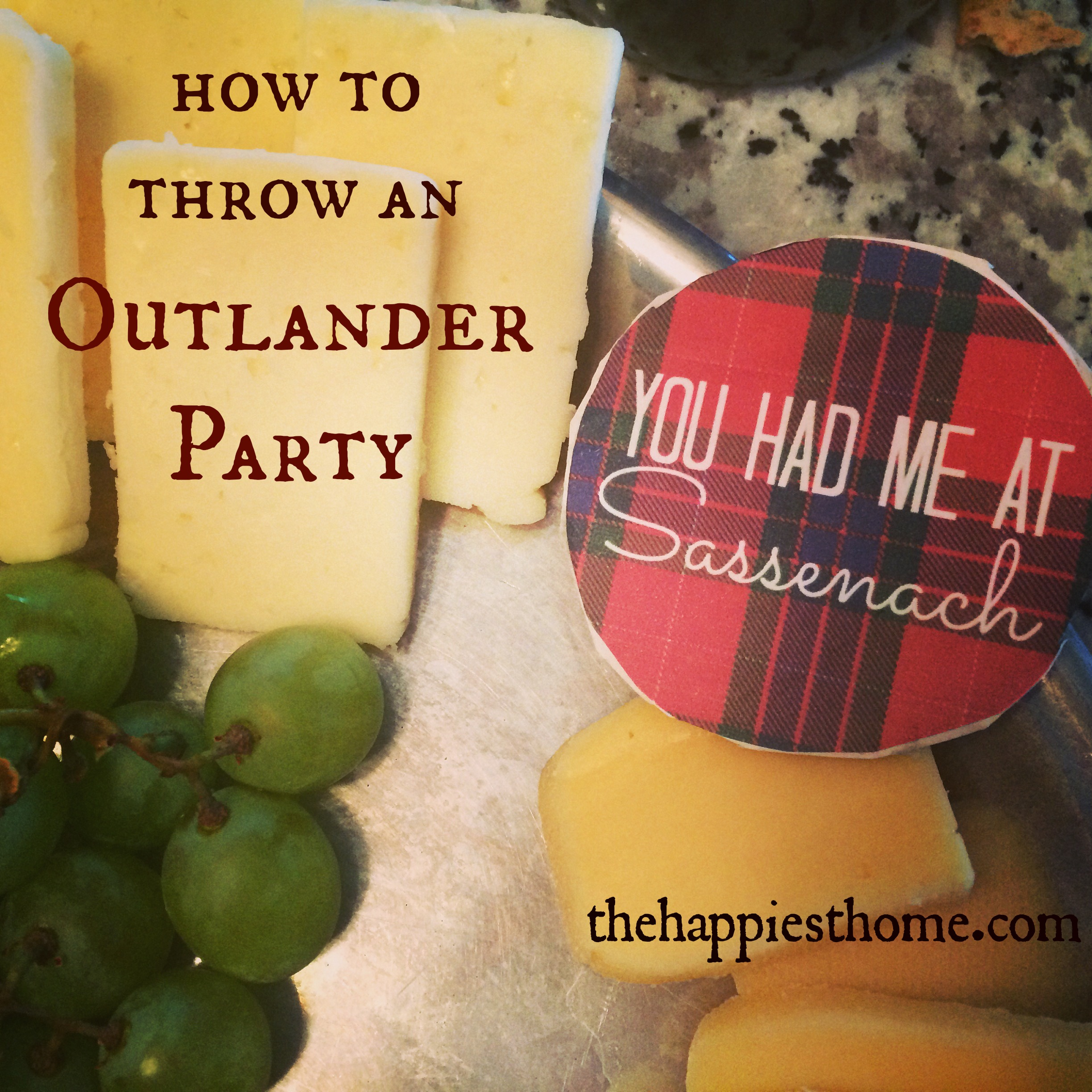 How to Throw an Outlander Viewing Party