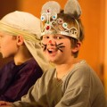 Will, as the Mouse King in his 3rd grade performance of The Nutcracker