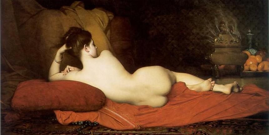 Odalisque by Jules Joseph Lefebvre (1836 - 1911