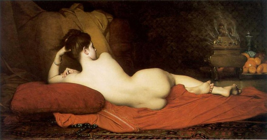 Odalisque by Jules Joseph Lefebvre (1836 - 1911