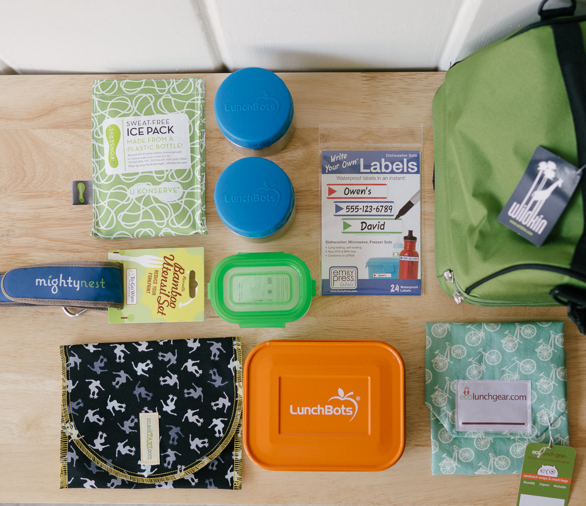 Pledge to Pack Lunch And Win $100+ Worth Of Gear From MightyNest!