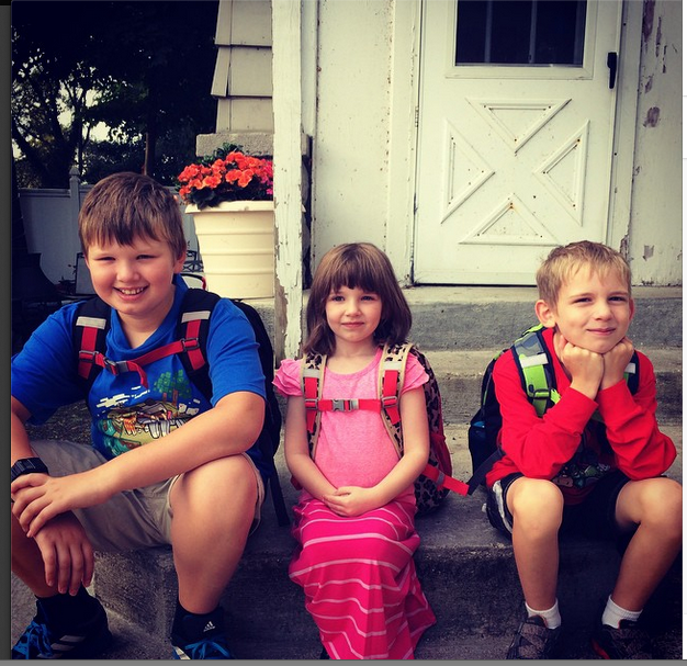 Kids first day 2014