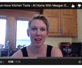 At Home with Meagan