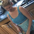 meagan kitchen slicing