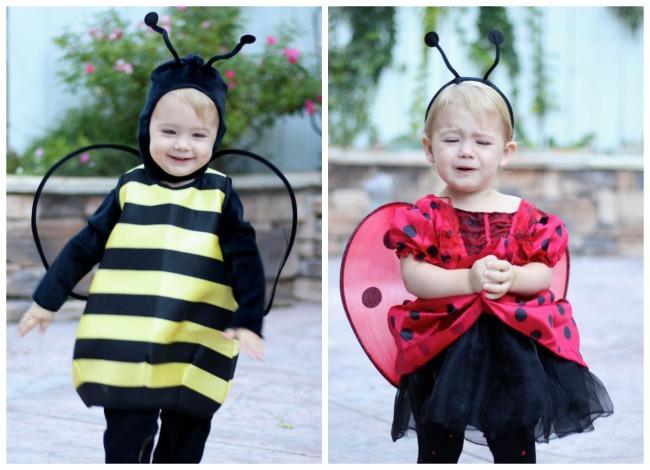 Bumble Bee Ladybug Halloween Costume Toddler