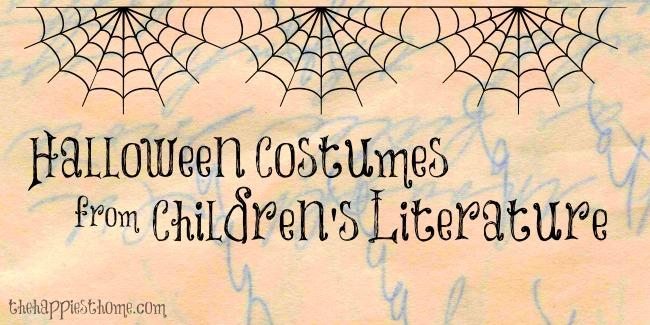 Halloween Costumes from Children's Literature