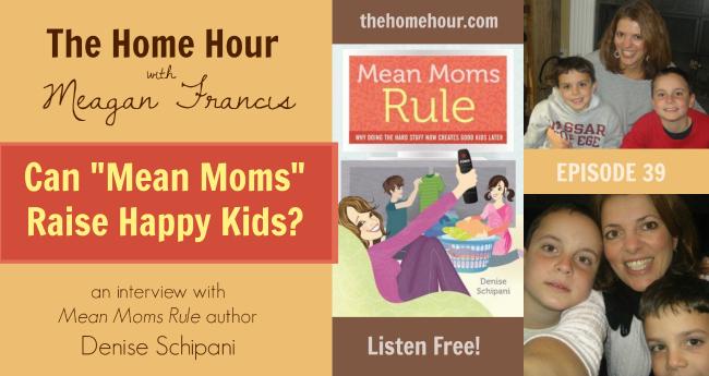 Mean Moms Rule Denise Schipani Interview