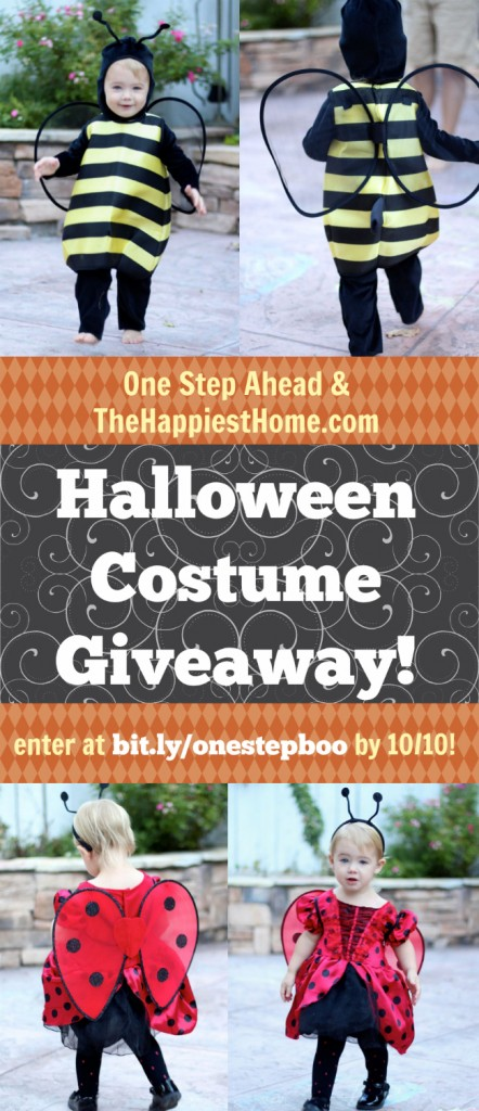 OSA Halloween Costume Giveaway  sc 1 st  The Happiest Home & Win A Halloween Costume u0026 Treat Bag From One Step Ahead! - The ...