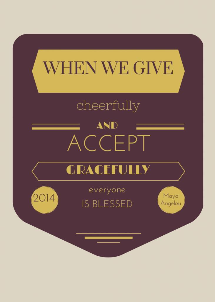 quotes, gratitude, Maya Angelou