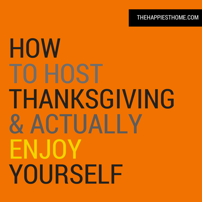 How To Host Thanksgiving, entertaining