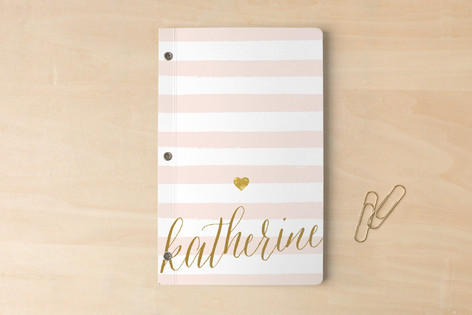 Minted Personalized Journal