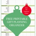 printable, holiday gift list