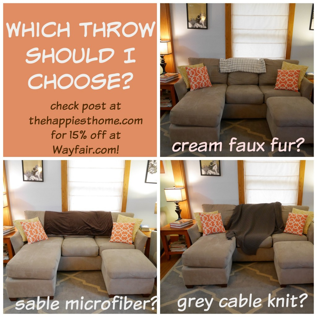 How To Choose A Couch which throw looks best on my sofa? you choose.