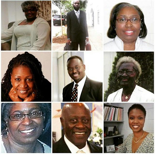 Victims of the Charleston AME shooting